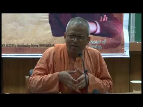 Swami Tyagarupananda at IIT Kanpur -Karma Yoga and Swami Vivekananda