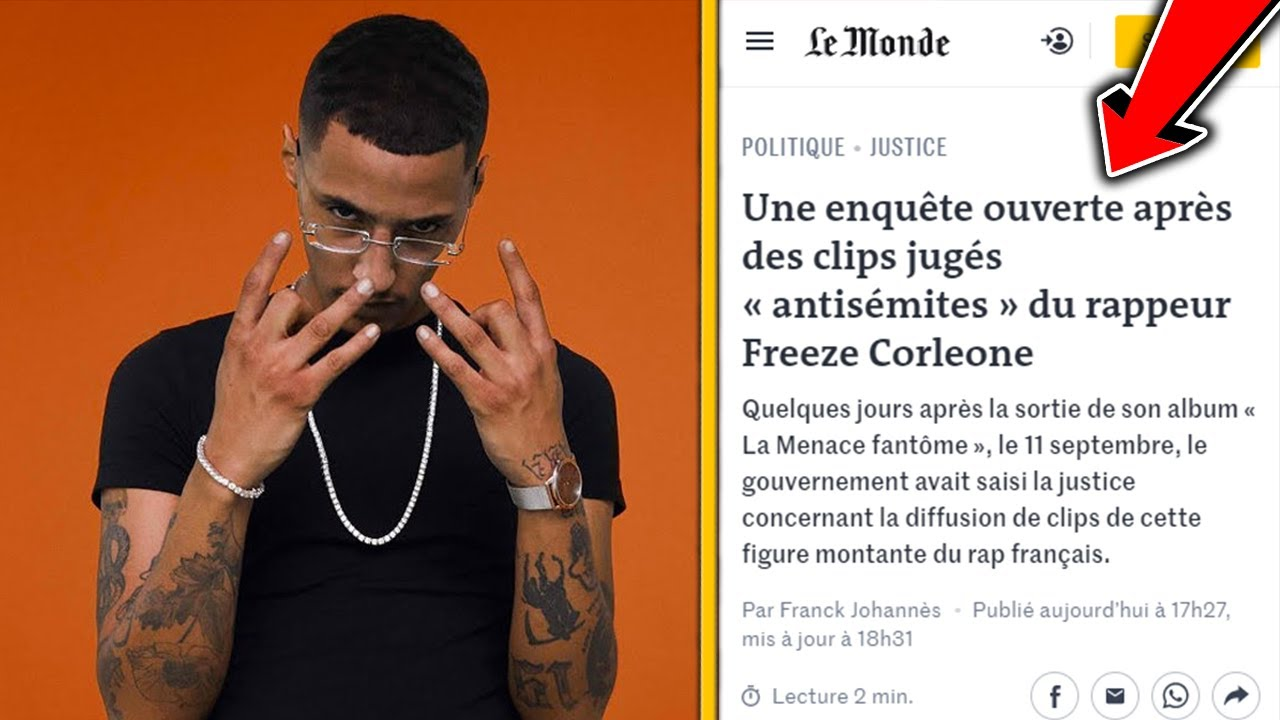 FREEZE CORLEONE ATTAQUÉ PAR L'ÉTAT POUR RACISME, TERR*RISME !