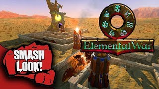 Elemental War Gameplay - Smash Look!