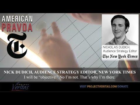 American Pravda, NYT Part I – Slanting the News & A Bizarre Comey Connection