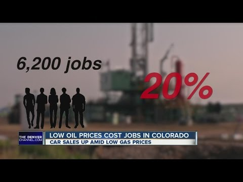 Low oil prices costing jobs in Colorado