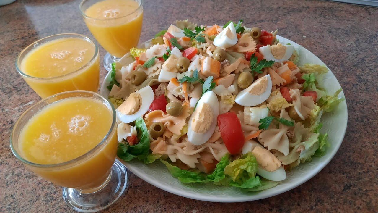 RECETA SALUDABLE!! 🇲🇦😋 Ensalada mixta FRESQUITA y deliciosa!!