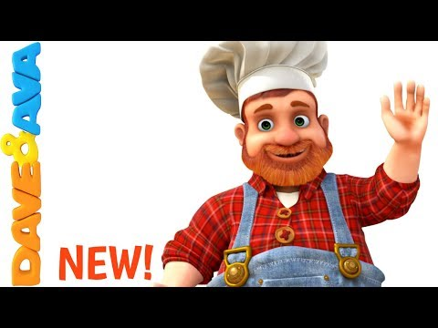 🎂 Pat a Cake | Nursery Rhymes from Dave and Ava | Song for Children 🎂