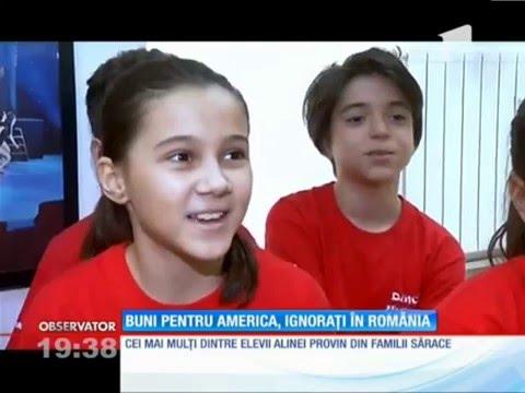 Buni pentru America, ignorați de România - Dance World la Observator Antena 1 - 2016.03.19