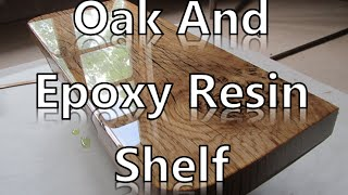 epoxy resin and burr oak shelf dsnerv