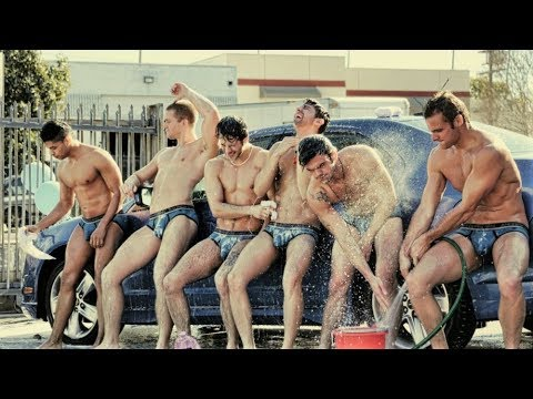 Andrew Christian - Car Wash / Kylie Minogue - Wow