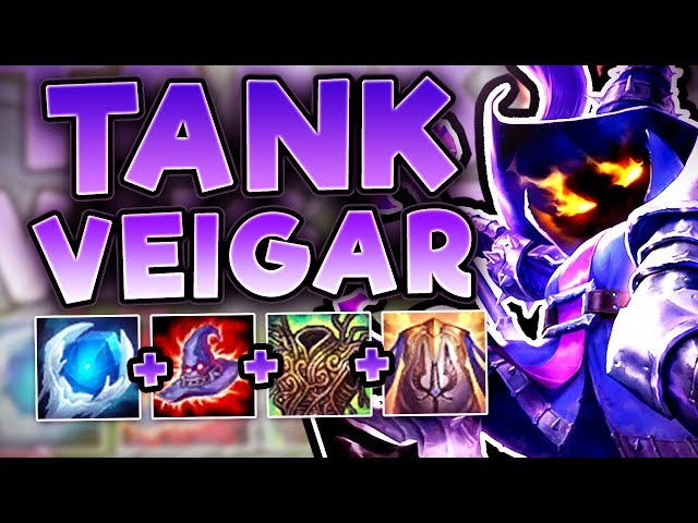 Deathcap Tank Veigar New Tank One Shot Build Fun Tank Build Veigar Top Season 7 League Of Legends Youtube