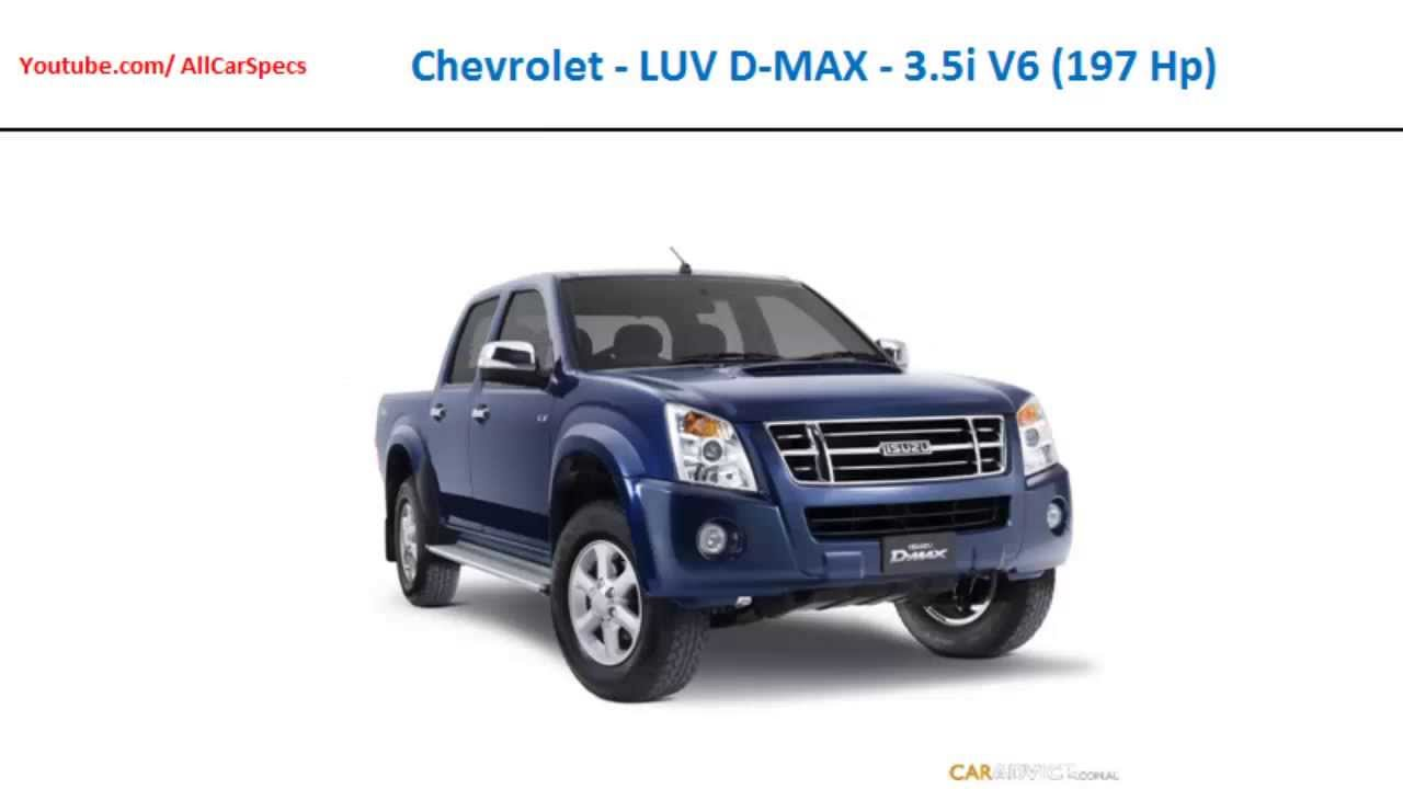 Chevrolet luv d max 3 5i v6 197 hp automobile all specs youtube