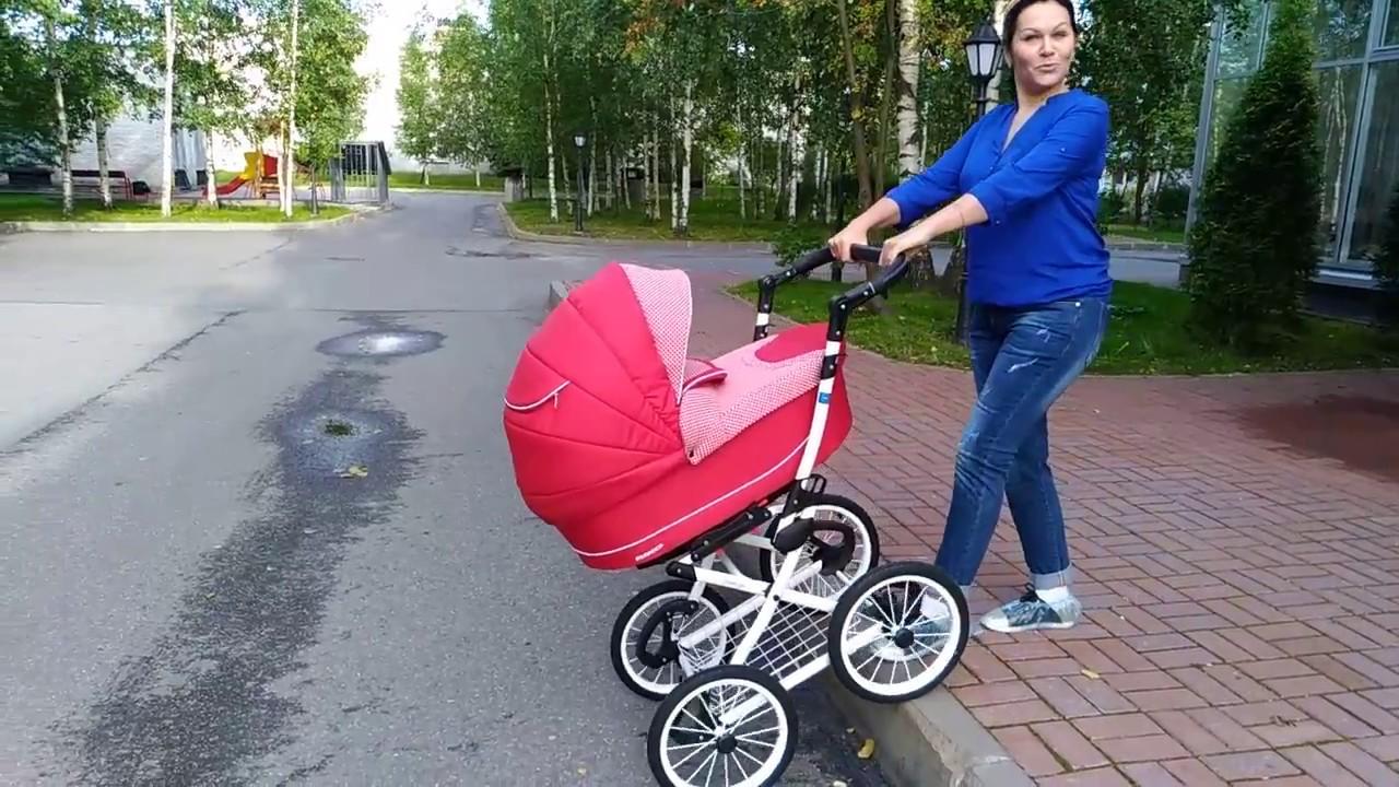 Stokke Xplory износ передних колес - YouTube