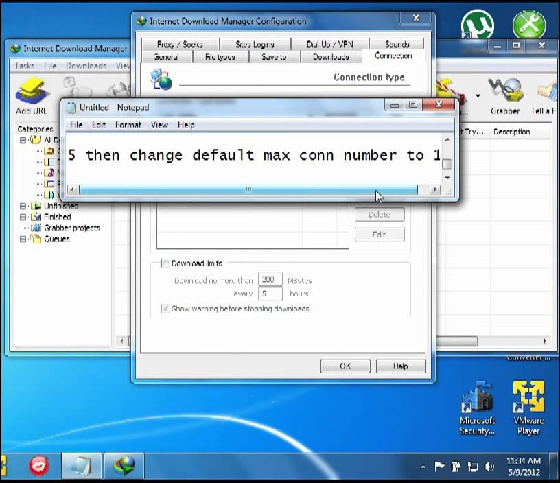Super-fast internet download manager in slimbrowser.