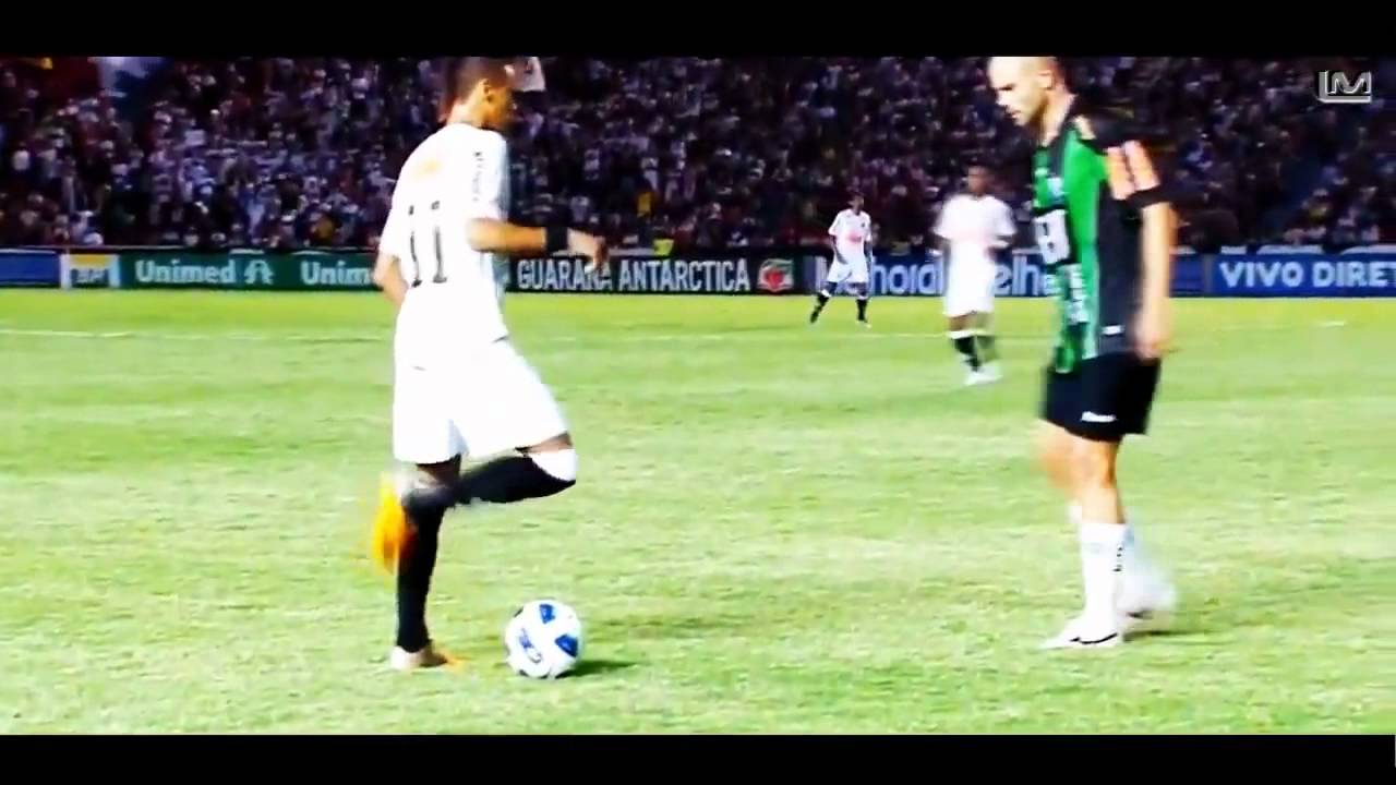 Neymar Technique-Dribble 2012 HD. - YouTube