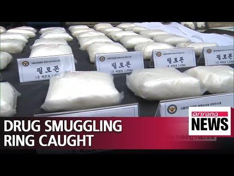 South Korea police catch meth smuggling syndicate