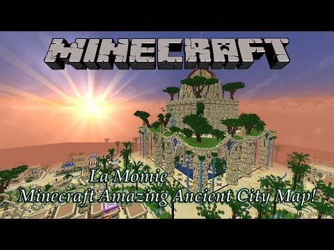 "Minecraft Incredible Ancient City Map! ""La Momie"" (PC Download)"