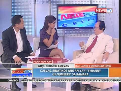 News To Go - Interview with Atty. Serafin Cuevas, legal counsel to Ombudsman Gutierrez (03/02/11)