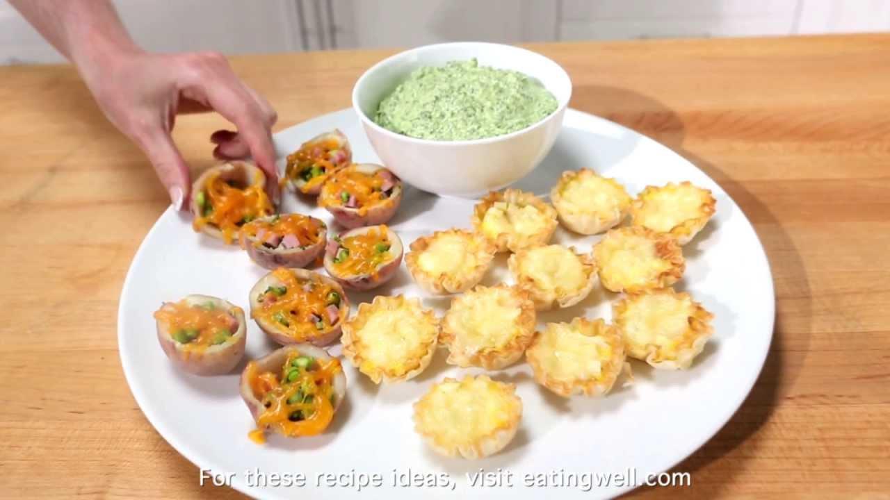 healthier appetizers finger foods youtube. Black Bedroom Furniture Sets. Home Design Ideas