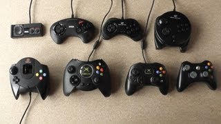 Video Game Controller Evolution - From Master System To Xbox 360 - Retro To Modern