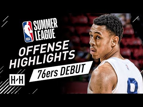 Zhaire Smith Full Offense Highlights at 2018 NBA Summer League - Philadelphia 76ers Debut!