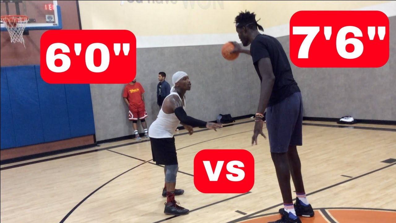 bone collector vs 7 6 nba player youtube