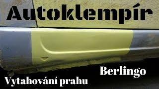 Vytahování prahu u Berlinga (Car body repair)