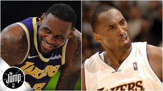 LeBron is about to pass Kobe on the NBA scoring list -- how will Lakers fans react?   The Jump