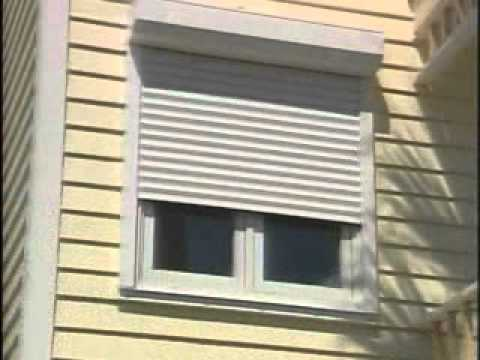 Automatic window rollowing shutters video RTSwmv YouTube