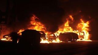 لحظة تفجيرات في العاصمة الفرنسية باريس