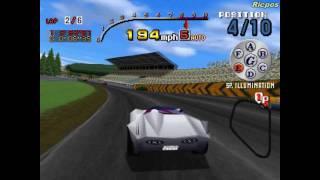 PS1 - Speed Racer - Gameplay