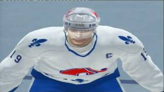 NHL 2K7 (PS3) EDMONTON OILERS 90 vs QUEBEC NORDIQUES 93