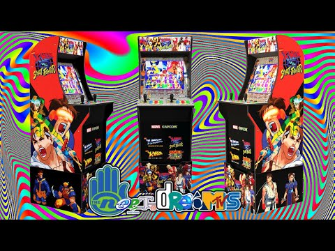 Arcade1up X-Men vs. Street Fighter 3/4 Scale Arcade Cabinet Review + Unboxing + Assembly from NEET.dreams