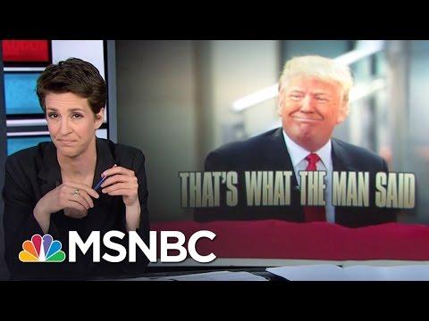 Donald Trump Upends Anti-LGBT GOP Orthodoxy | Rachel Maddow | MSNBC