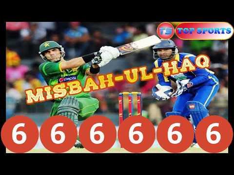 Misbah ul haq hit 6 sixes in 6 balls-Hong Kong t20