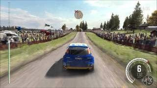 DiRT Rally - Finland: Kakaristo Gameplay (PC HD) [1080p]