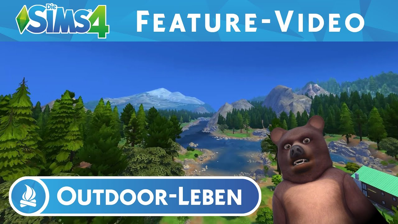 Die Sims 4 Outdoor-Leben: FEATURE-VIDEO