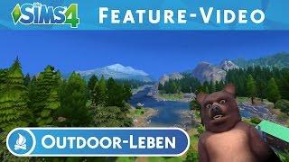 Die Sims 4 Outdoor-Leben: FEATURE-VIDEO
