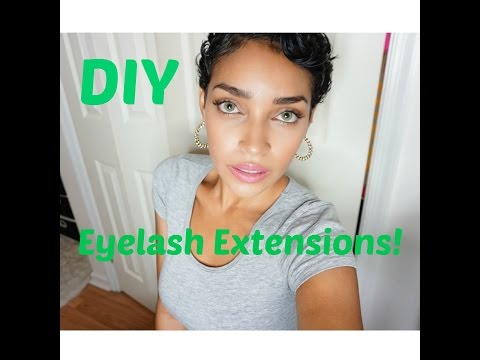 DIY Lash Extensions | Affordable, Long lasting and EASY