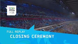 Closing Ceremony - Athletes Enter Stadium | Full Replay | Nanjing 2014 Youth Olympic Games