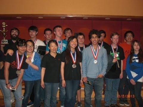 Edip Yüksel (E) Matine & his team at 2013 Arizona Science Olympiad - 2/2