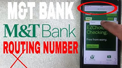 ✅  M and T Bank ABA Routing Number - Where Is It? ?