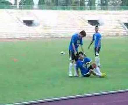 Singapore Lions Secret Training before ASEAN finals