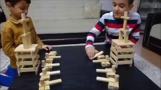 Tahta Bloklarla Clash Royale Oynamak