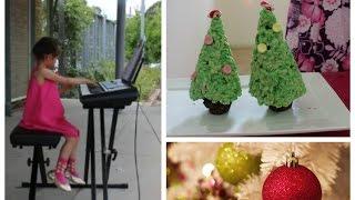 Easy &amp Yummy DIY Christmas Holiday Treat Recipes with Hanna and Mia