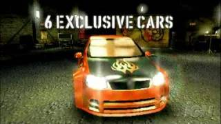 Need for Speed Carbon: Own the City Sony PSP Trailer -