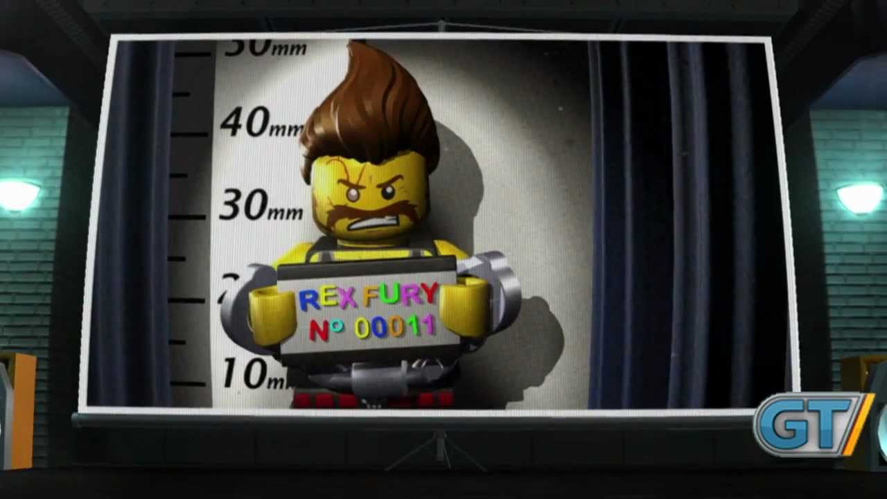 Lego City Undercover - Rex Fury Trailer