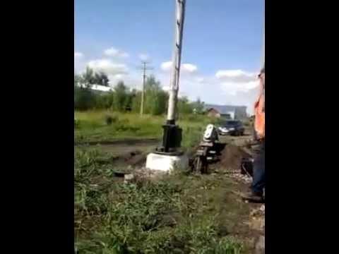Демонтаж жд светофора