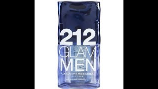 212 Glam Men by Carolina Herrera, Unboxing and Initial Impression