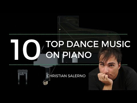 Top 10 dance music of the 90s on piano