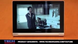 Lenovo Yoga Tablet 10 Video Review (HD)