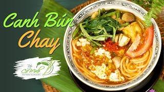 Bếp Cô Minh | Tập 114 - Học nấu Canh Bún Chay đậm vị - Vegan Rice Noodles Soup Recipes