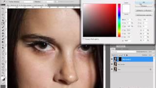 Ретушь портрета - урок от сайта Фотошоп Мастер