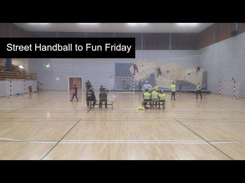 Fun Friday Event with Street Handball, Bramming, Denmark